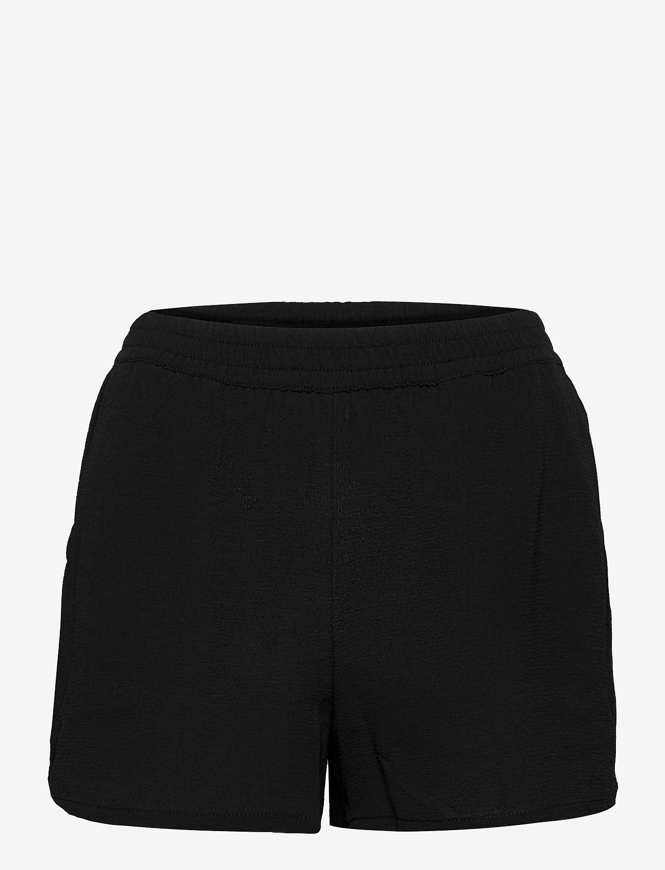 ONLY - ONLNOVA LUX SHORTS SOLID WVN 3 - shorts casual - black - 0