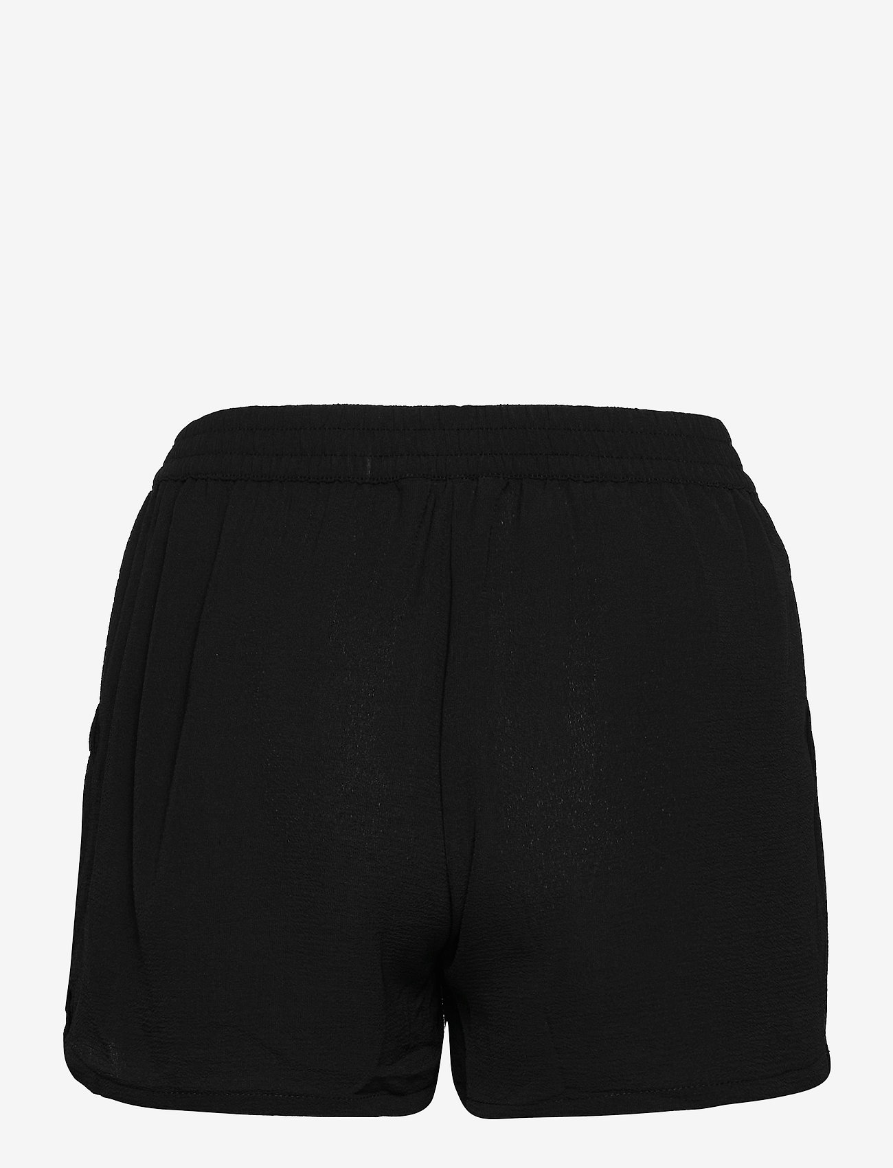 ONLY - ONLNOVA LUX SHORTS SOLID WVN 3 - shorts casual - black - 1