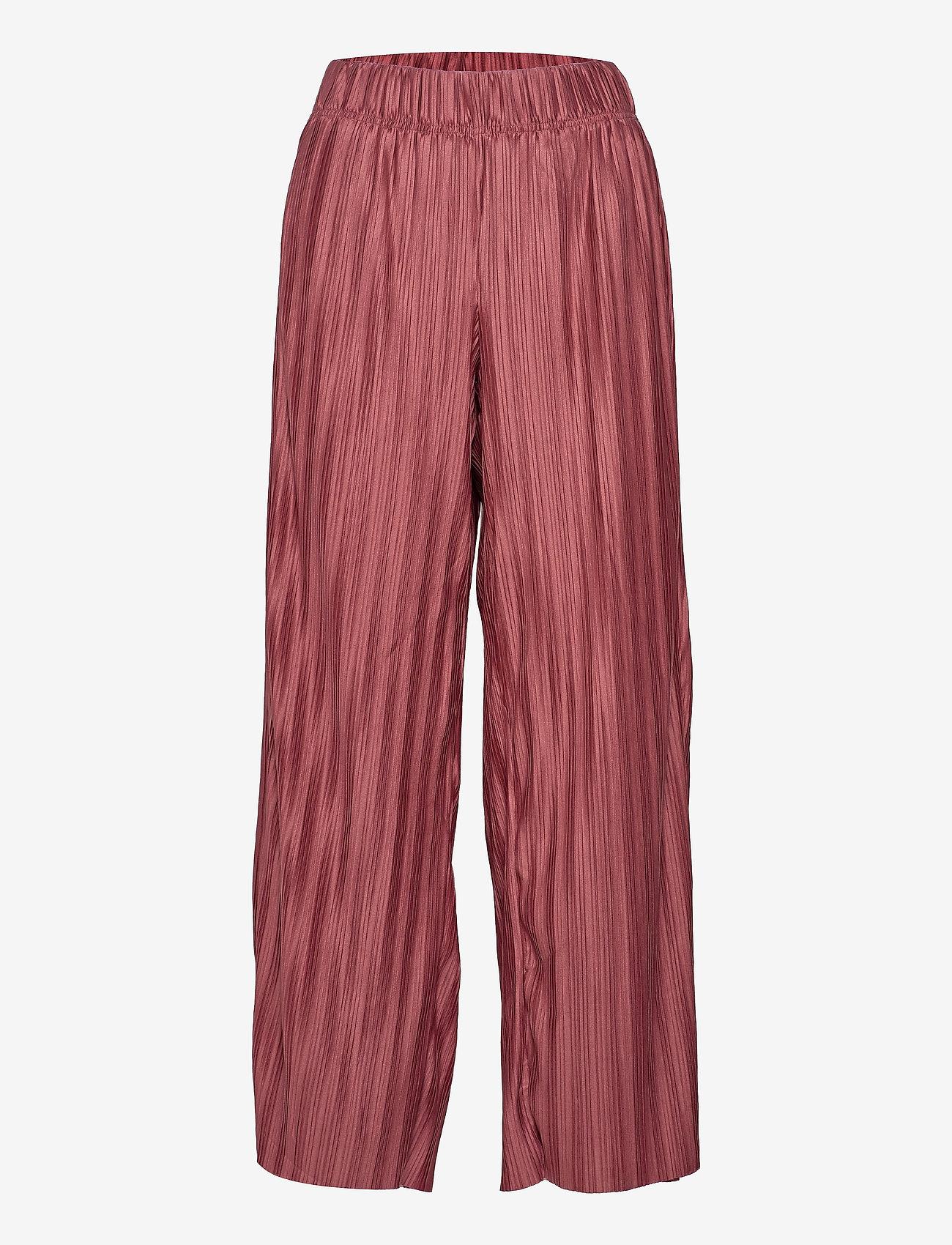 ONLY - ONLELEMA PANTS BOX JRS - bukser med brede ben - apple butter - 0