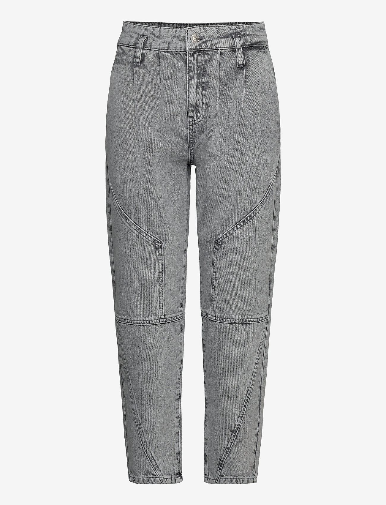ONLY - ONLKOKO ACID MOM JEANS - mom jeans - grey denim - 0