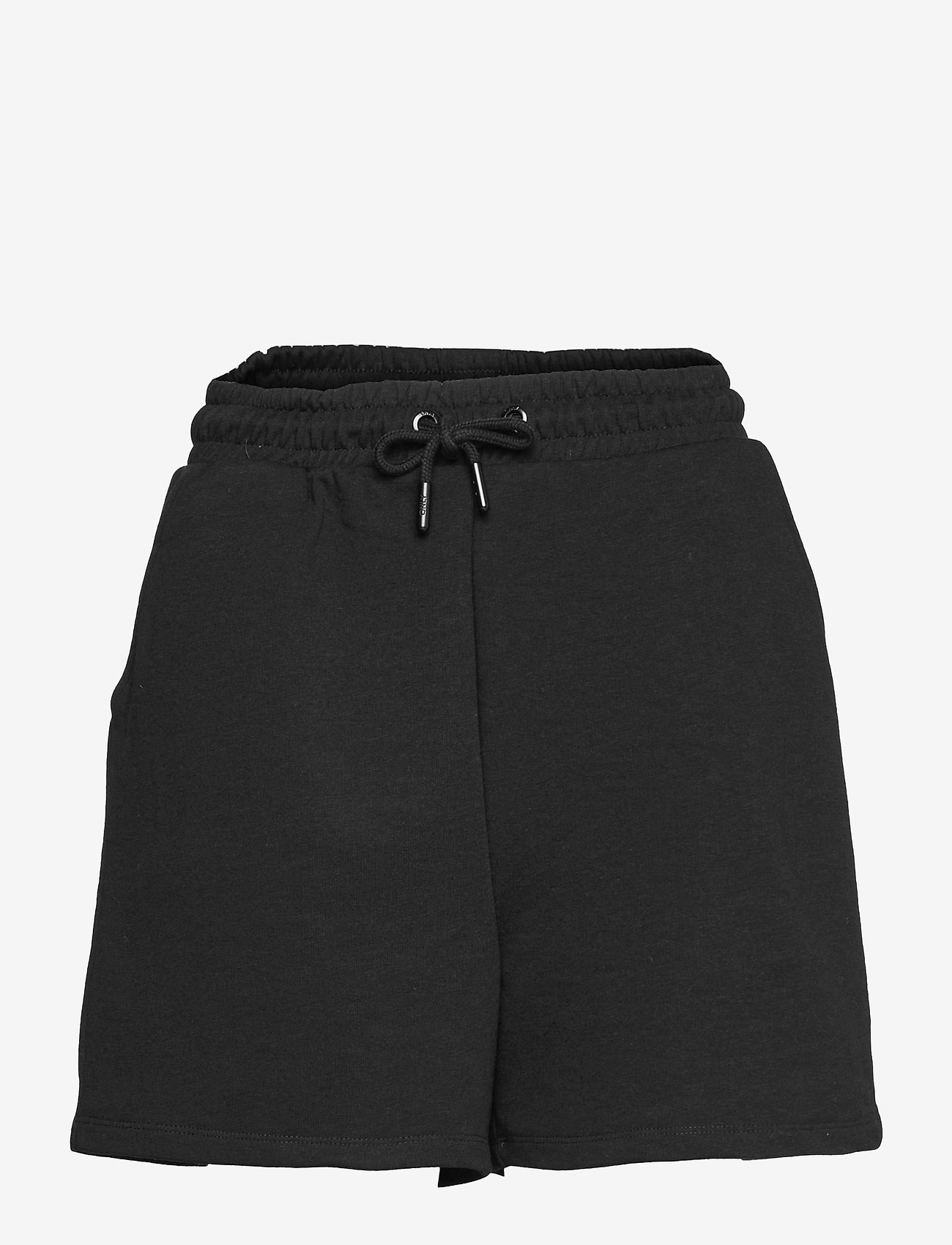 ONLY - ONLKAPPI SWEAT SHORTS SWT - shorts casual - black - 0