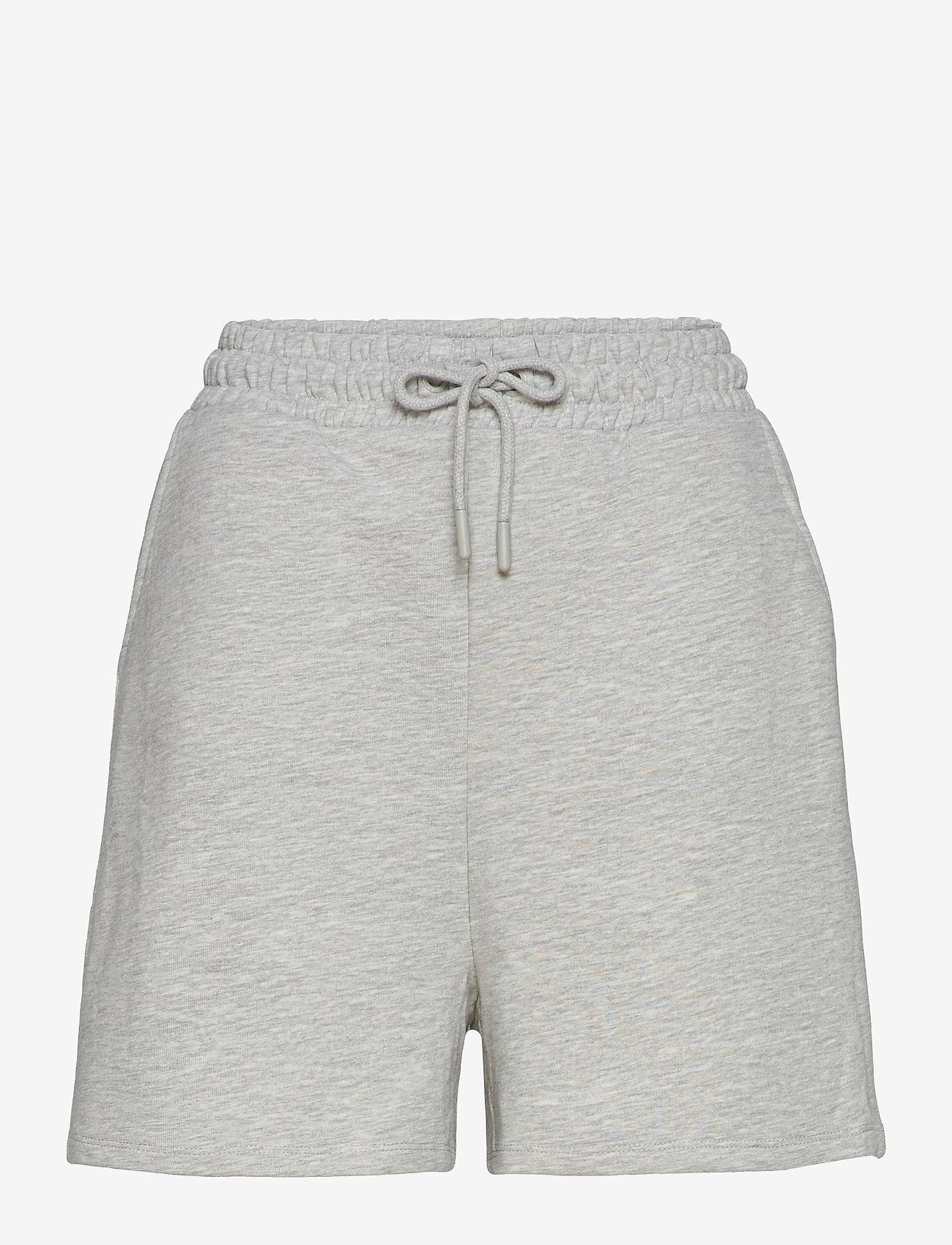 ONLY - ONLKAPPI SWEAT SHORTS SWT - shorts casual - light grey melange - 0