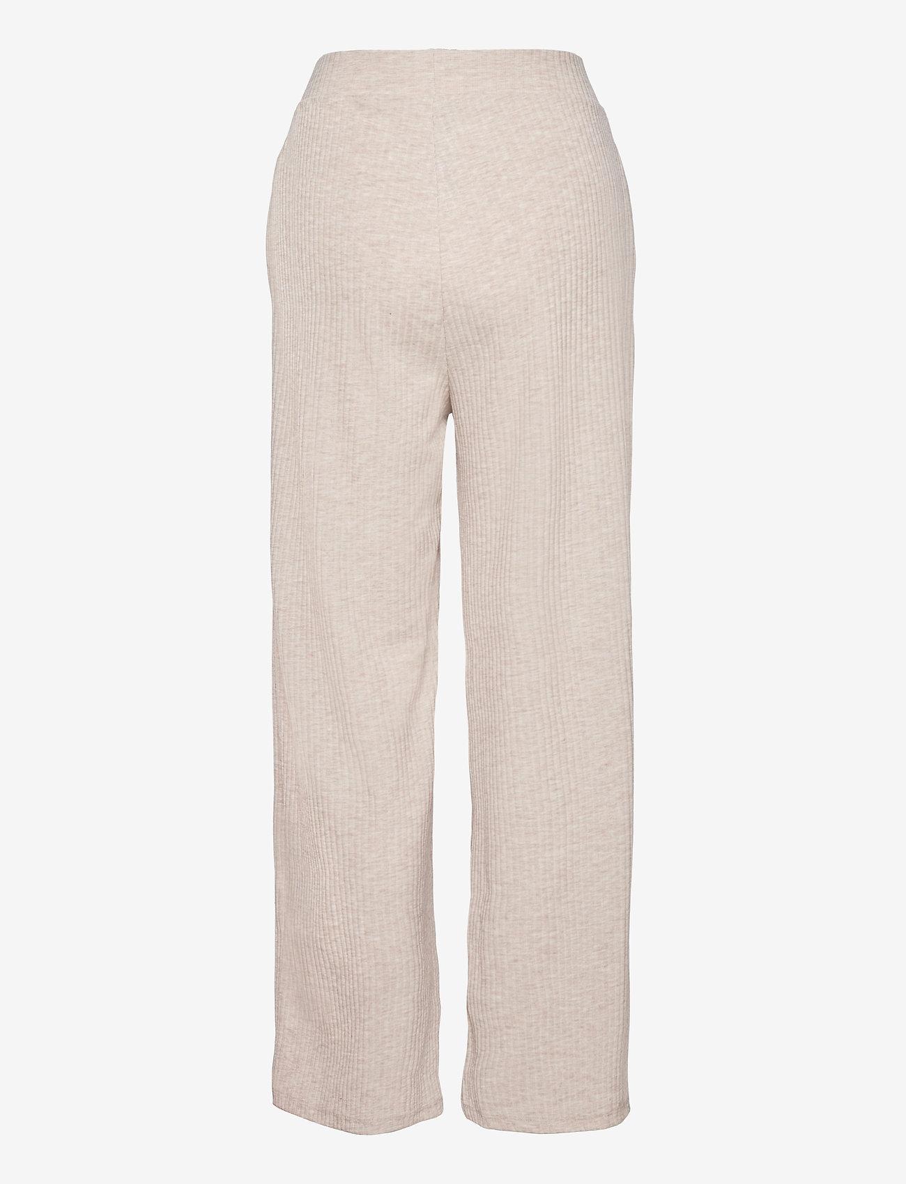 ONLY - ONLNELLA WIDE POCKET PANT CS JRS - bukser med brede ben - oatmeal - 1