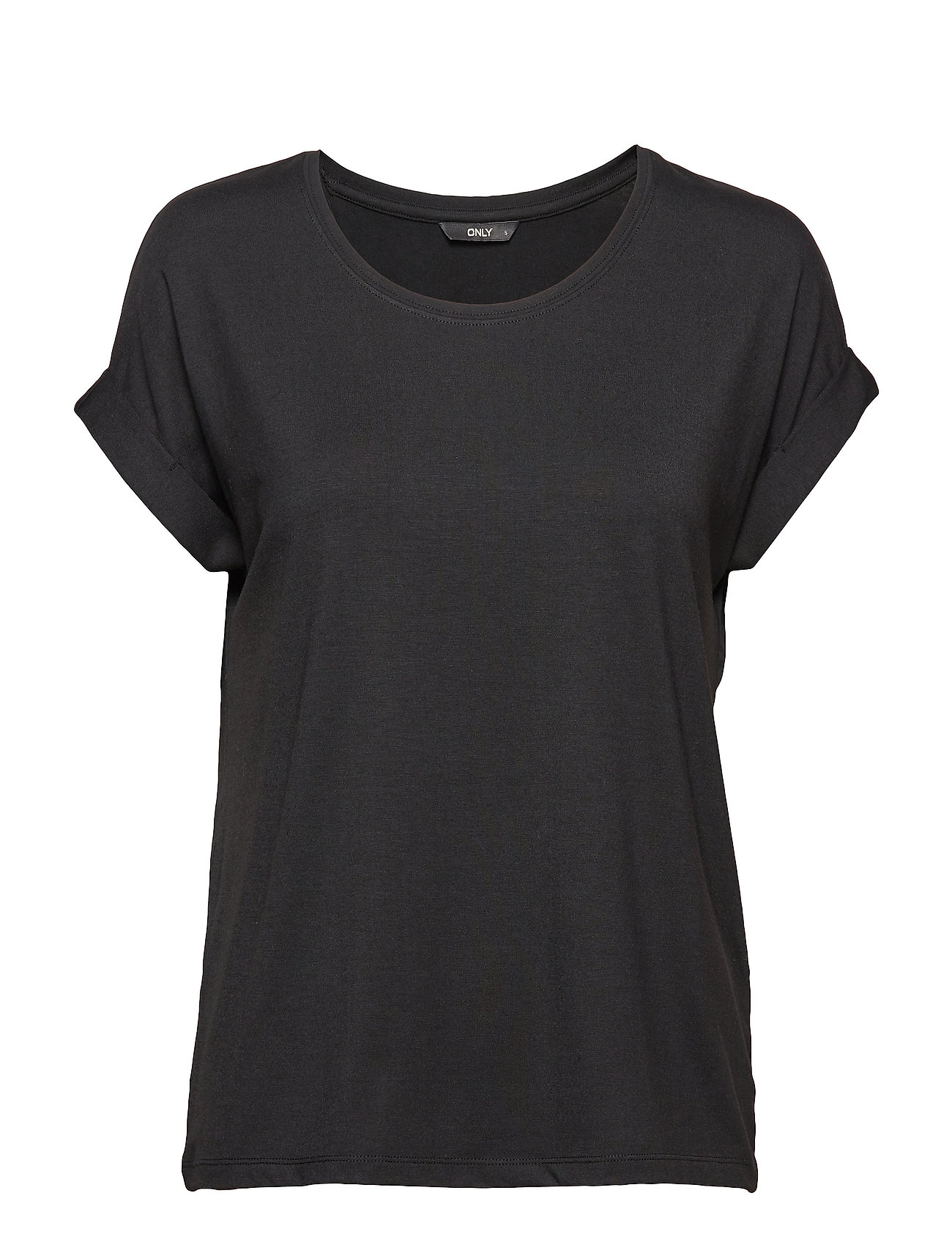 ONLY ONLMOSTER S/S O-NECK TOP NOOS JRS - BLACK