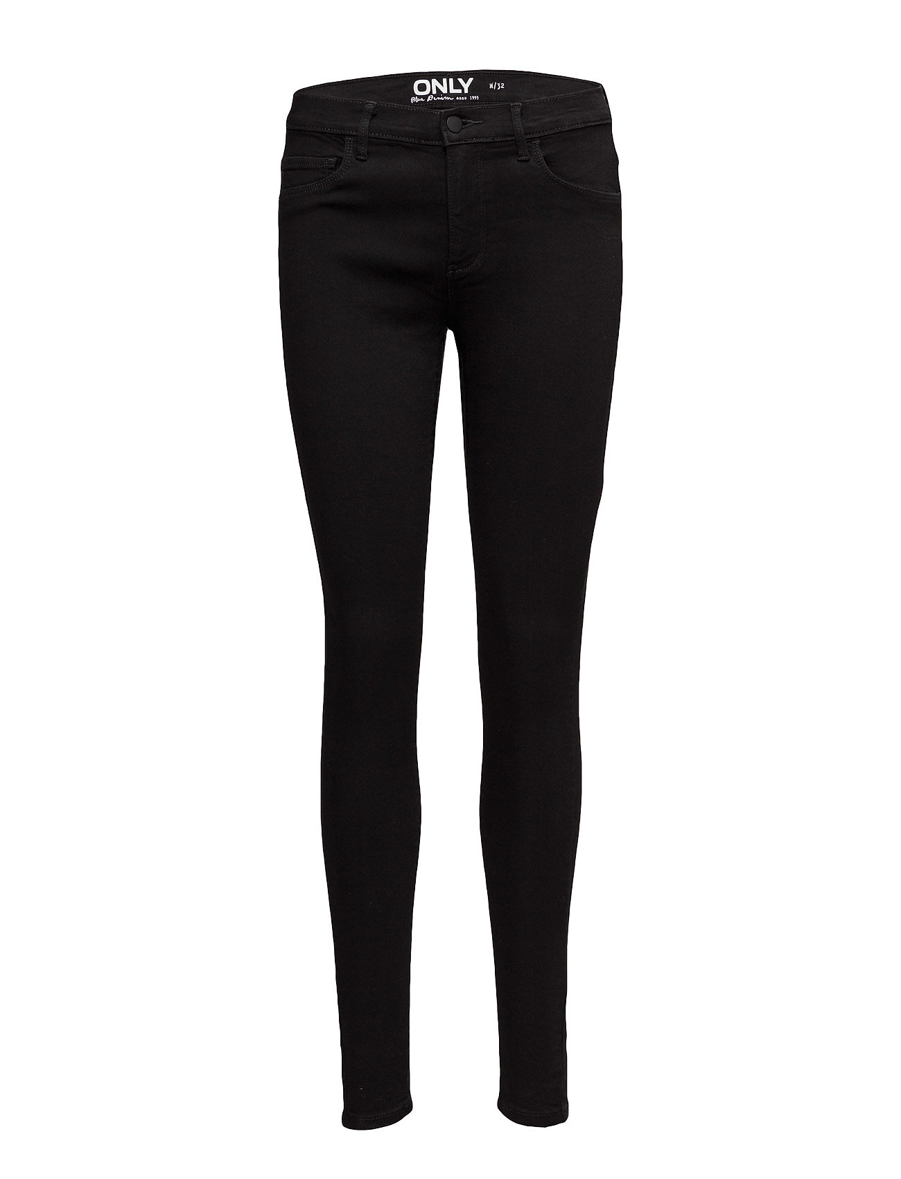 1362be7c Onlrain Reg Skinny Jeans Cry6060 Noos (Black Denim) (£22) - ONLY ...