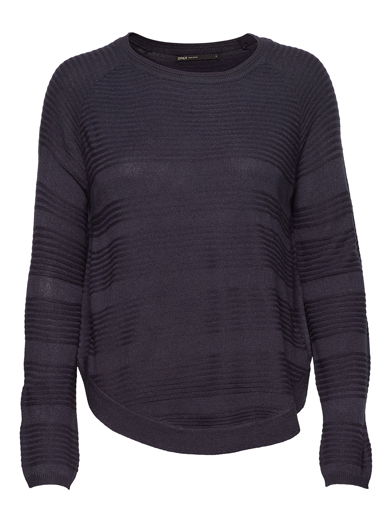 ONLY ONLCAVIAR L/S PULLOVER KNT NOOS - NIGHT SKY