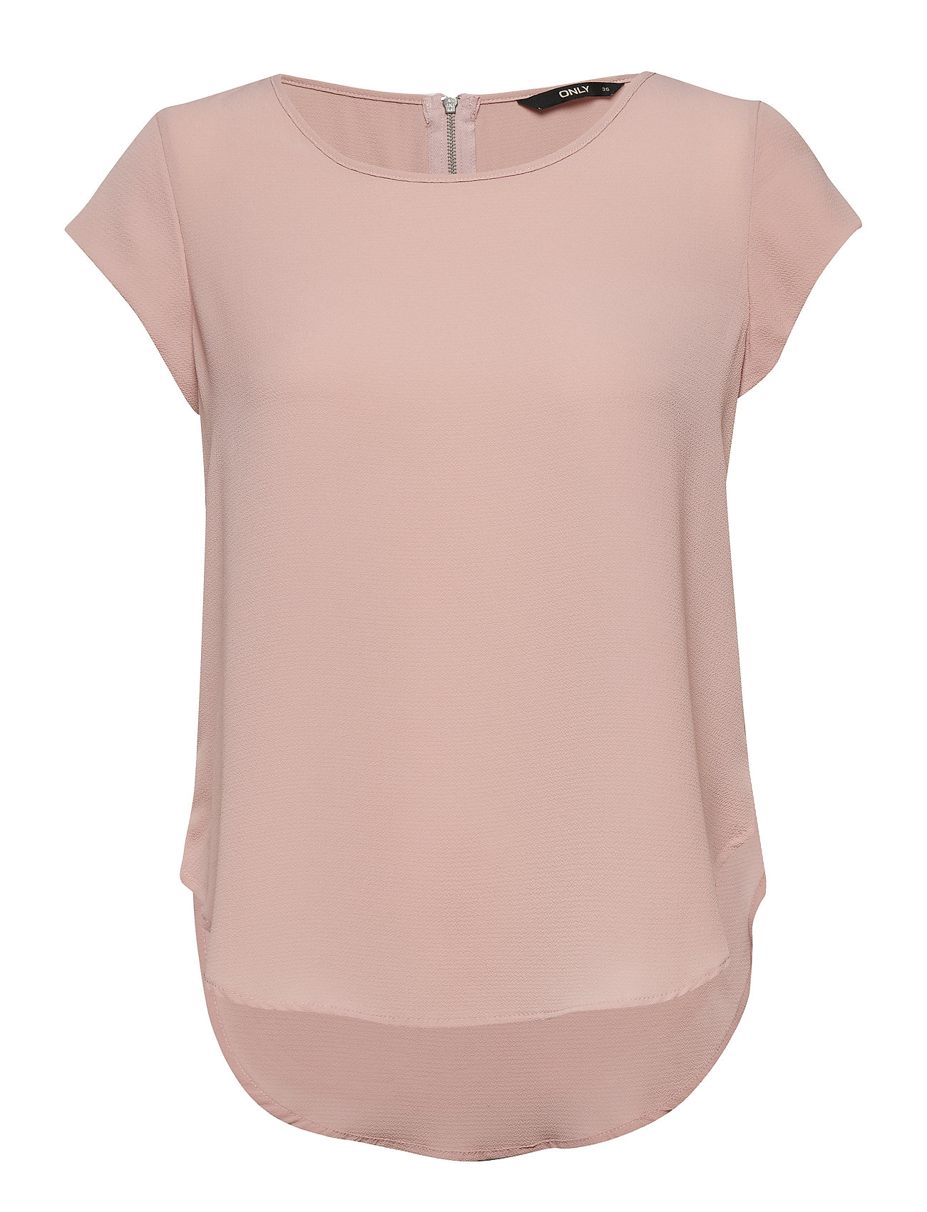 ONLY ONLVIC S/S SOLID TOP NOOS WVN - PALE MAUVE