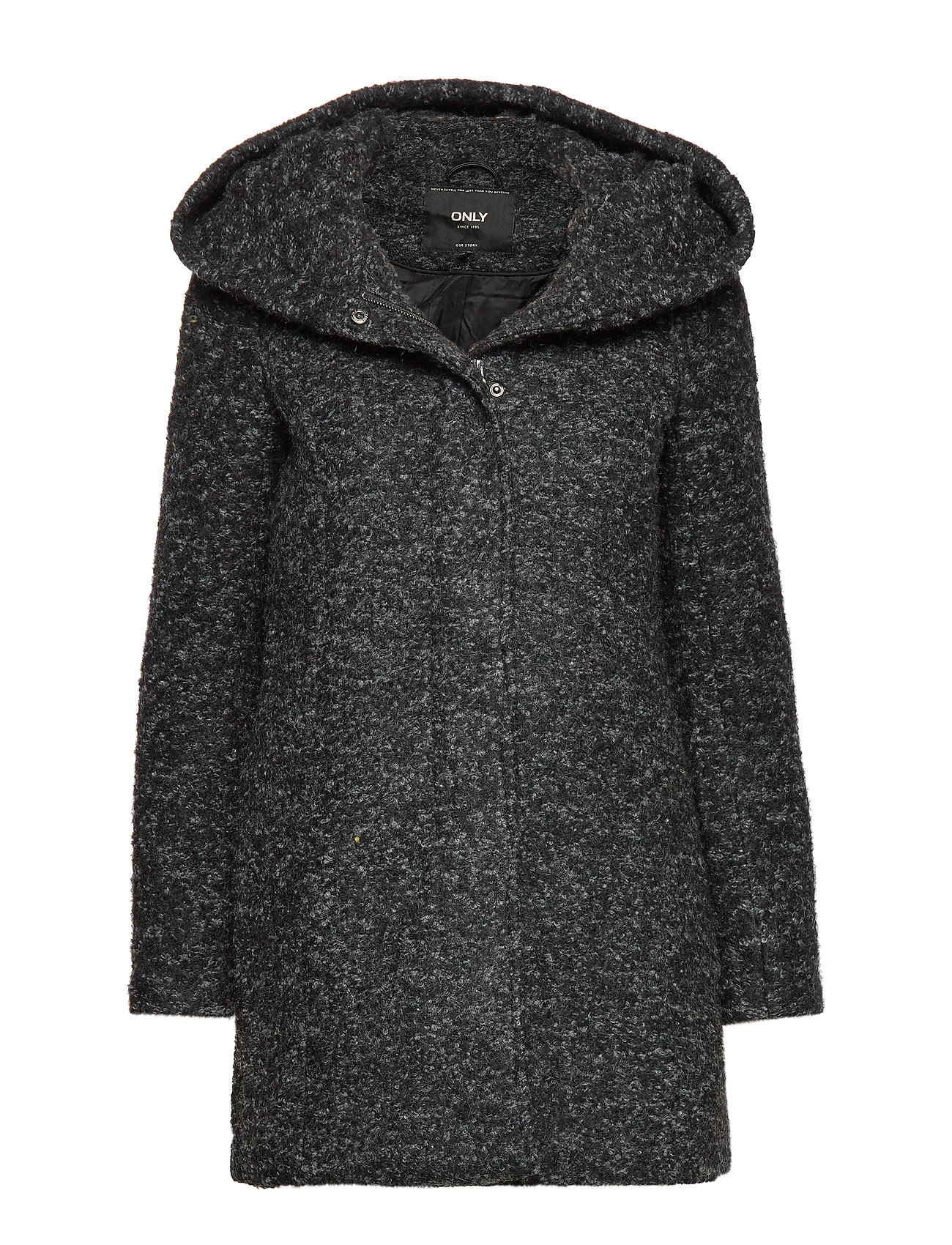 ONLY ONLSEDONA BOUCLE WOOL COAT OTW NOOS - BLACK