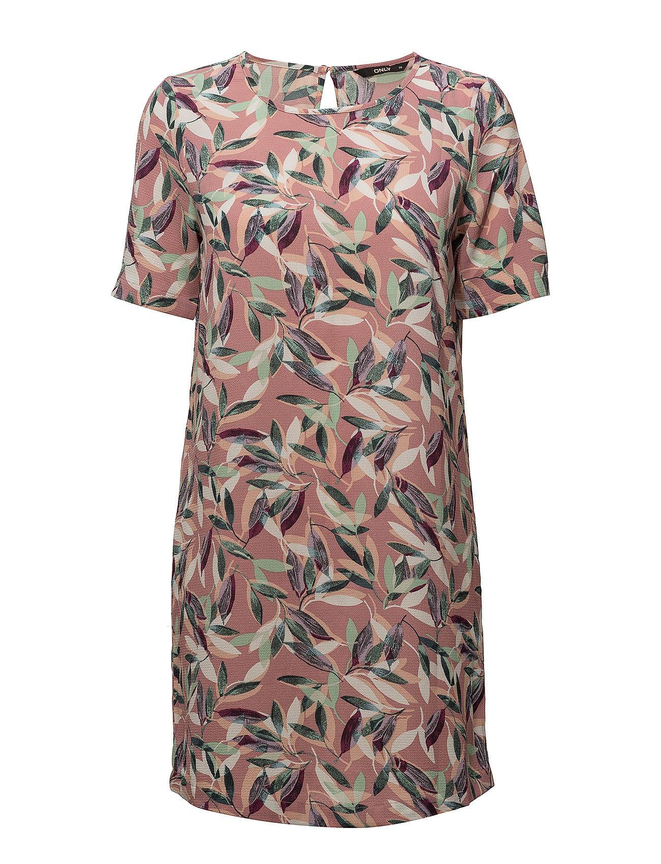Onlnova Lux Aop Tee  Dress Wvn