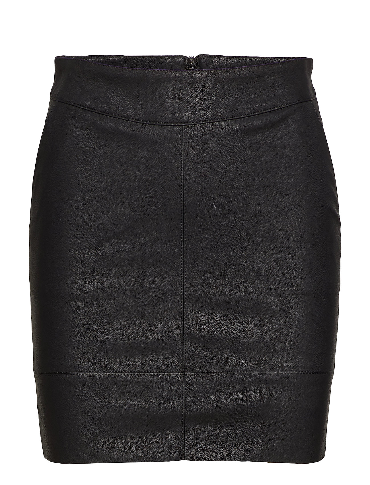 ONLY ONLBASE FAUX LEATHER SKIRT OTW NOOS - BLACK
