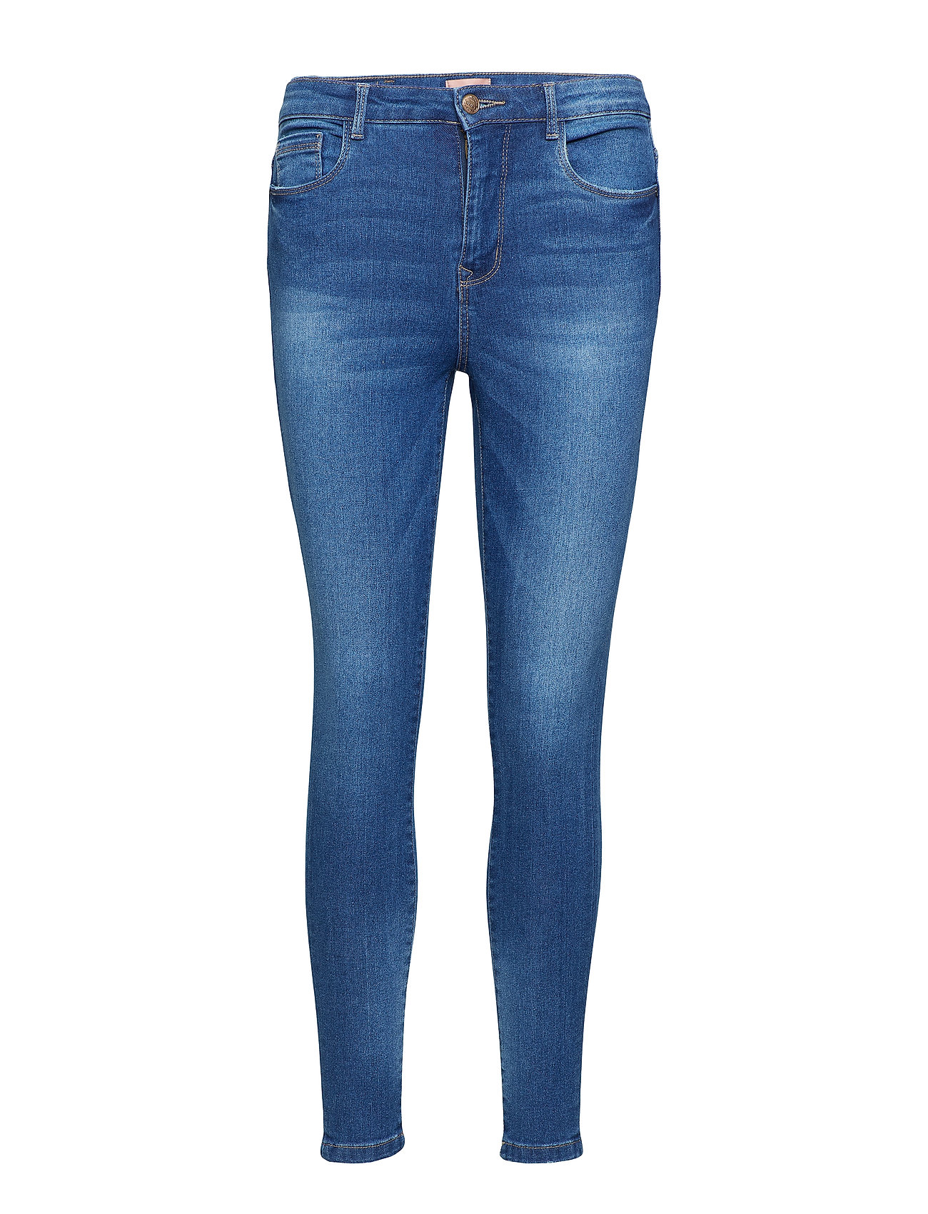 ONLY onlPETRA HW DNM ANKLE JEANS PIM8148-1 - MEDIUM BLUE DENIM