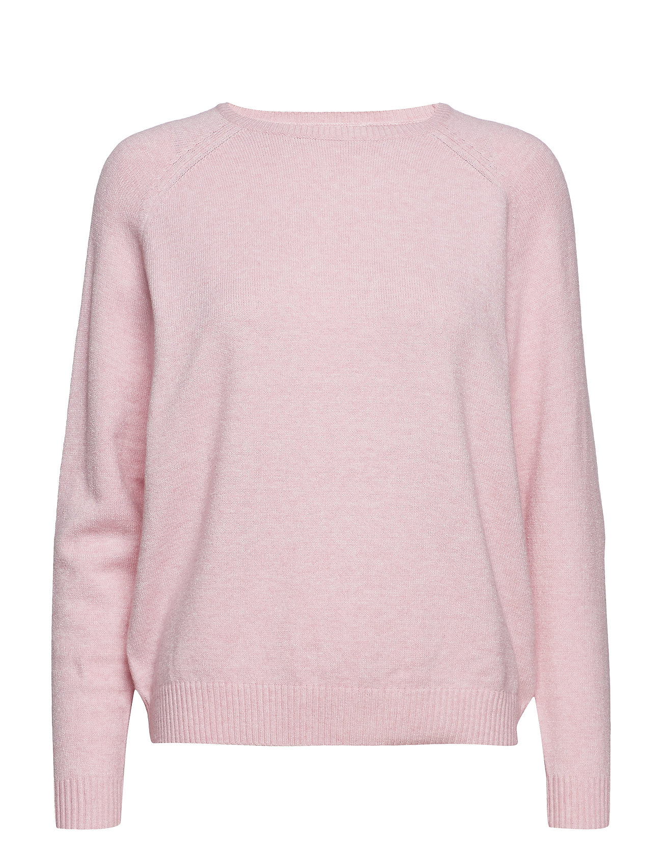 ONLY onlLESLY KINGS L/S PULLOVER KNT NOOS - LIGHT PINK
