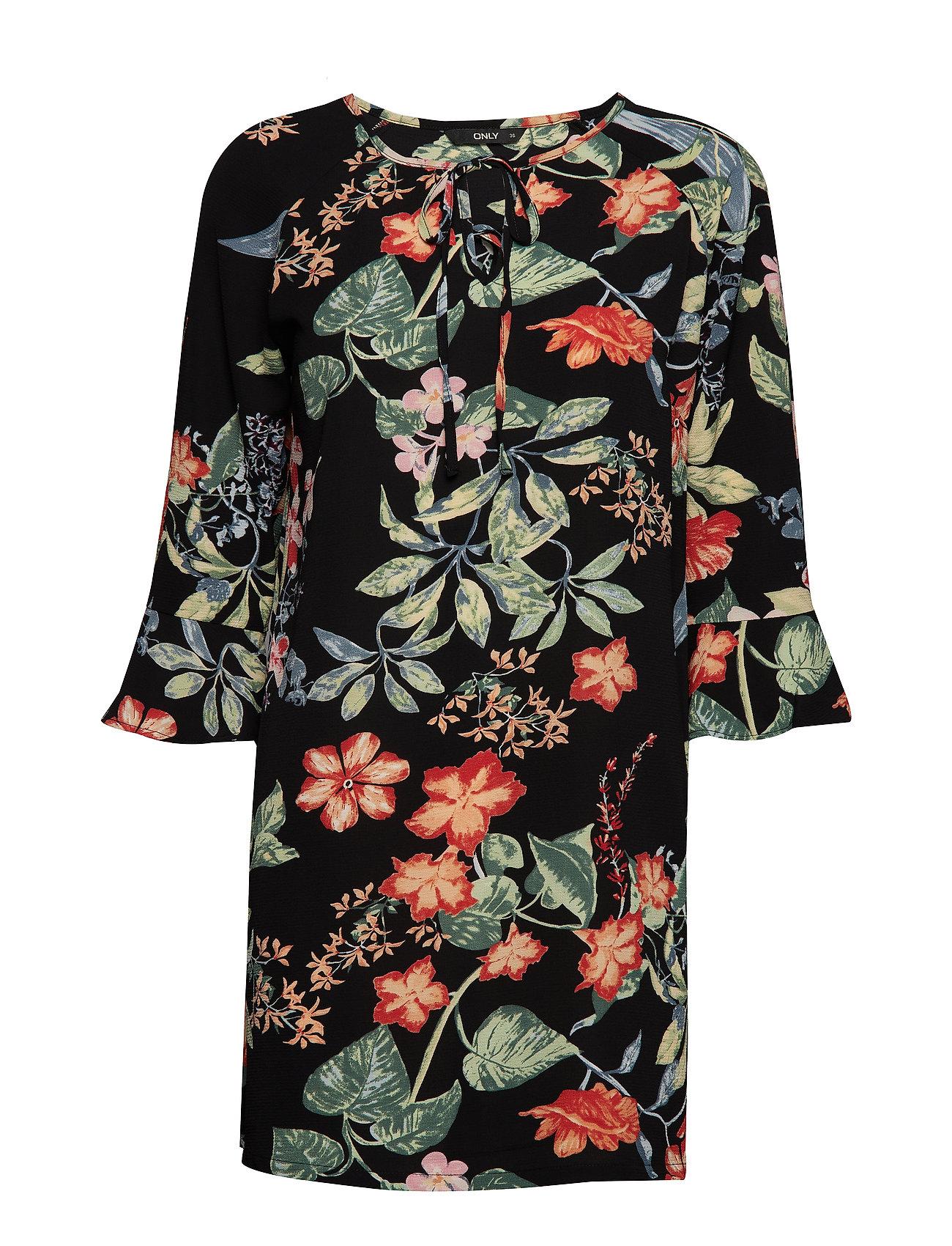 0276c30fa2f4 Sort ONLY Onlnova Lux Tie Dress Aop 4 Wvn korte kjoler for dame ...