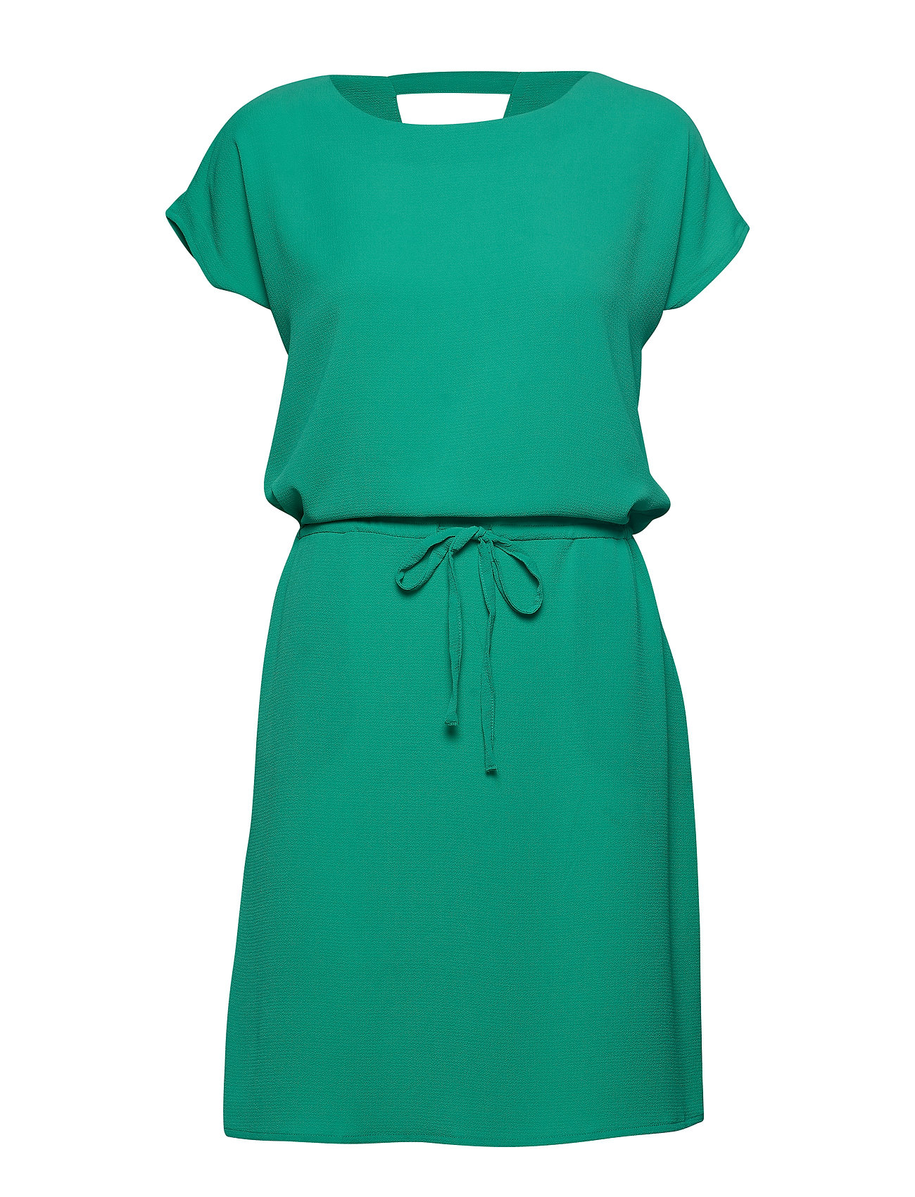 3d2988e49 Onlnova Lux Solid Connie Bali Dress Wvn Knælang Kjole Grøn ONLY