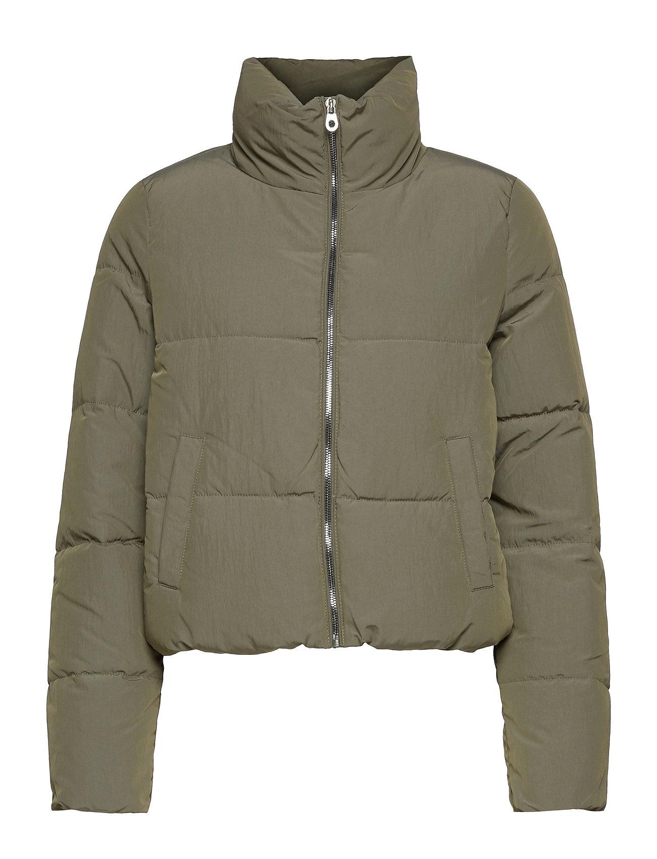 Onldolly Short Puffer Jacket Otw Noos Foret Jakke Grøn ONLY