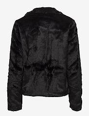 ONLY - onlVIDA FAUX FUR JACKET OTW - faux fur - black - 2