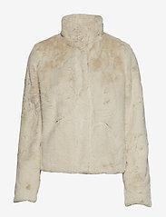 ONLY - onlVIDA FAUX FUR JACKET OTW - faux fur - pumice stone - 1