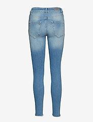 ONLY - ONLBLUSH LIFE MID SK AK RAW REA1467 NOOS - skinny jeans - light blue denim - 1