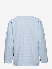 ONLY - onlLECO MAISE L/S ZIP TOP JRS - long sleeved blouses - cashmere blue - 1