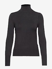 ONLY - ONLVENICE L/S ROLLNECK PULLOVER KNT - t-shirt & tops - black - 0
