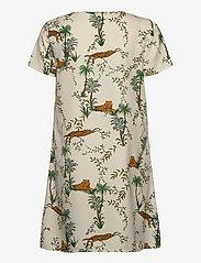 ONLY - ONLELVINA S/S SHORT DRESS WVN - short dresses - transparent yellow - 1