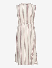 ONLY - ONLDORRIE S/L ABOVE CALF DRESS WVN - midi dresses - cloud dancer - 1