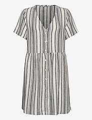 ONLY - ONLALFINA S/S DRESS WVN - midi dresses - cloud dancer - 0