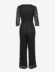 ONLY - ONLEDITH 3/4 WRAP JUMPSUIT JRS - jumpsuits - black - 1