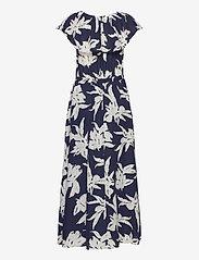 ONLY - ONLALMA LIFE POLY OFF-SHOULDER DRESS AOP - maxi dresses - night sky - 2