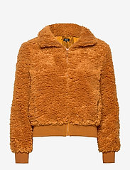 ONLY - ONLELLIE SHERPA BOMBER JACKET CC OTW - faux fur - cathay spice - 0