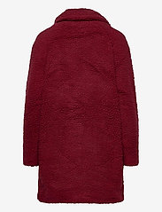 ONLY - ONLAURELIA SHERPA COAT OTW - faux fur - pomegranate - 1