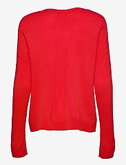ONLY - ONLXMAS REINDEER L/S PULLOVER KNT - gensere - high risk red - 1