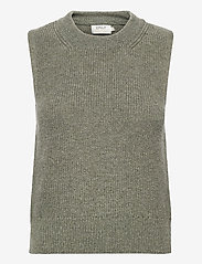 ONLY - ONLPARIS LIFE VEST KNT - knitted vests - kalamata - 0