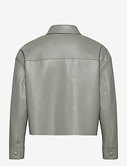 ONLY - ONLMARINA L/S FAUX LEATHER JACKET PNT - skinnjackor - shadow - 1