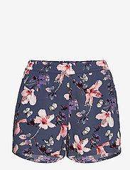 ONLY - ONLNOVA LUX SHORTS AOP WVN 3 - shorts casual - vintage indigo - 0