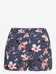 ONLY - ONLNOVA LUX SHORTS AOP WVN 3 - shorts casual - vintage indigo - 1