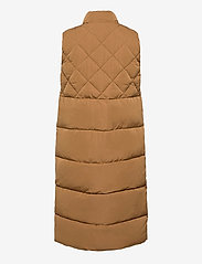 ONLY - ONLSTACY QUILTED WAISTCOAT CS OTW - puffer vests - toasted coconut - 1