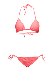 onpDONNA TRIANGLE BIKINI TROPICAL FIT - HOT PINK