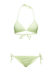 onpDONNA TRIANGLE BIKINI TROPICAL FIT - NEON YELLOW