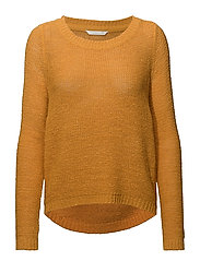onlGEENA XO L/S PULLOVER KNT NOOS - GOLDEN YELLOW