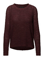 onlGEENA XO L/S PULLOVER KNT NOOS - PORT ROYALE