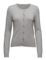 onlBELLA L/S BUTTON CARDIGAN KNT NOOS - LIGHT GREY MELANGE