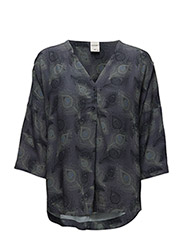 stuACE 3/4 OVERSIZE SHIRT - DEEP WELL
