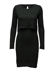 onlNEW BROOKS L/S DOUBLE DRESS ESS - SCARAB