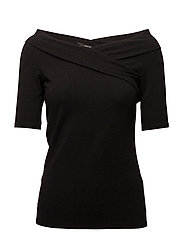 onlROMA MANJA WRAP 2/4 TOP JRS - BLACK