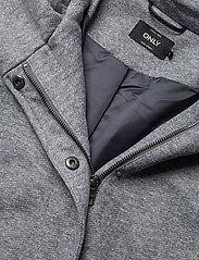 ONLY - ONLSEDONA LIGHT COAT OTW NOOS - cienkie płaszcze - light grey melange - 3