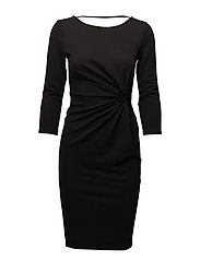 onlLONA 3/4 DRESS JRS - BLACK