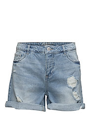 onlBROOKY REG DNM SHORTS BOX - LIGHT BLUE DENIM