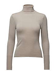 onlDARLING L/S ROLLNECK PULLOVER KNT - PUMICE STONE