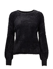 onlINFINITY L/S PULLOVER KNT - BLACK